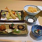 天ぷらのコースです。