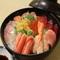 大好評海鮮丼1200円
