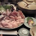 福島【延重】 季節鍋料理をどうぞ。