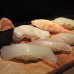 寿司おまかせ(日によって異なります)
