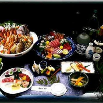 <寄せ鍋コース> 5000円(税別)
