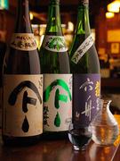 蕎麦の前に、日本酒はいかがでしょうか?