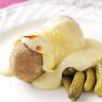 ラクレット(温かいスイスチーズ)
