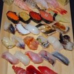 本格的なお寿司をカウンターで