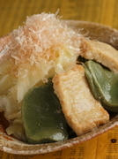 京風の上品な味が魅力『京生麩とキャベツの煮びたし』