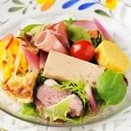 美食家風サラダ