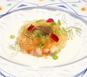 春夏秋冬、季節で替わるコースディナー             オードブルは4種からお選び頂けます