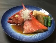 漁師町横須賀の金目鯛煮つけ