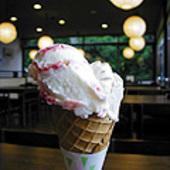 人気のアイスクリーム