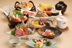 お料理たっぷり 寿司付