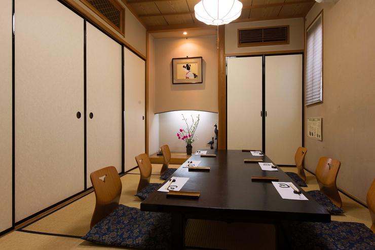 味処 高崎の個室