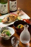 地酒と旬のお魚料理を存分にご堪能いただけます