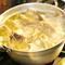 8時間かけてじっくり煮込んだ自家製「鶏ガラスープ」