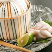 季節限定、上品な口当たりの『白子の茶碗蒸し』