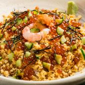 最後の晩餐にしたいといわれる『水仙(きたむら特製ちらし)』(茶碗蒸し、お椀物、新香、デザート付)
