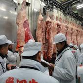 黄木自らが米沢牛枝肉市場より、一頭丸ごと買い付けて参ります!