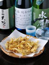 諏訪湖産 わかさぎの天ぷら