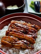 国産活鰻を炭火で焼いて仕上げる、香ばしく旨い『鰻丼』