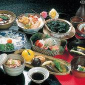 四季の会席料理