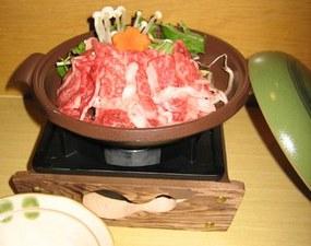 『近江牛のとうばん焼き』が付いた、贅沢な『祇園コース』