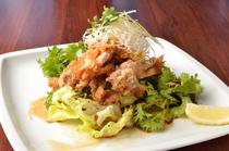 油淋鶏(ユーリンチー四川風鶏の唐揚げ)