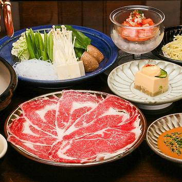 特別日本料理(7品)ーお部屋ー
