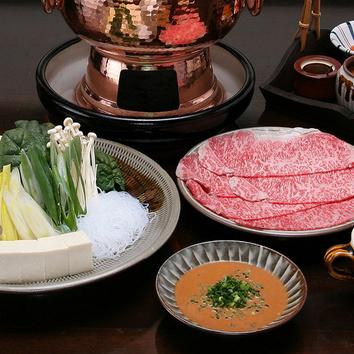 【国産牛ロース】しゃぶしゃぶ定食 ーテーブルー