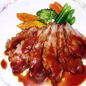 フランス産鴨胸肉のロースト