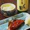 当店名物!鰯のつみれ汁・焼き魚