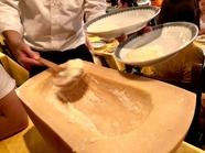 心がほっこりする温かな味わい『リコッタチーズとポルチーニ茸のパイ包み』