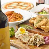 イタリア料理にピッタリのワインも多数!