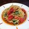 【夏限定】 トマトと大葉のクセになる冷製パスタ