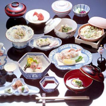 松会席 (10品、お食事、デザート含む)