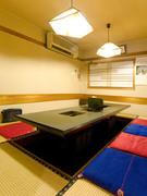 1階お座敷席の個室