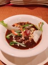 天然真鯛のソテー 季節の野菜と共に