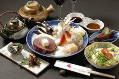 北海道産ひれ含む2種ステーキ・ライス食べ放題*サラダ付