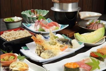 各種宴会 御法事には個別盛りのコース料理が人気です
