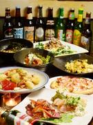 フードメニューは120種類と豊富にご用意。以下はほんの一例となります。美味しいお酒と共にどうぞお楽しみください。