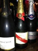 ジェーコブスクリーク(辛口)・ガンチャ(甘口)・<F1公式シャンパン>マム コルドンルージュ(辛口)
