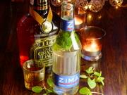 オリジナルジーマ全国大会でグランプリを獲得した「大人のZIMA」!甘さを抑えた、ミントの爽やかさとバーボンの深み…是非ともご試飲下さい!