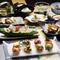 季節感溢れる日本料理を堪能
