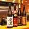 日本酒や焼酎も品揃え豊富です