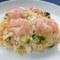 海老と豆腐のチャーハン
