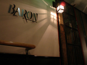 BARON de cocktail salon