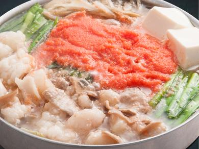 黄金屋の特製もつ鍋 定番醤油
