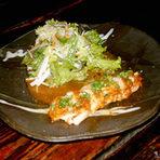 福住 地鶏サラダ