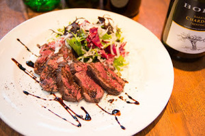 イタリア風ステーキ 牛ハラミのタリアータ