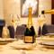 80種類以上のシャンパンと料理のマリアージュ