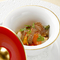 タスマニアサーモンと焼き野菜のマリネ バルサミコ風味