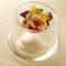 プレミアムミルクと塩のソルべ 季節のフルーツ添え